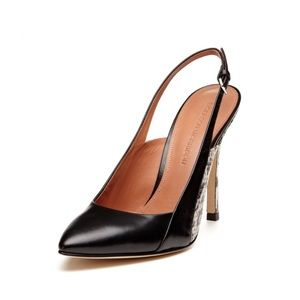 Sigerson Morrison Monte II Pointed Toe Slingback